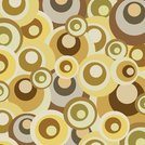 abstract retro circles pattern background