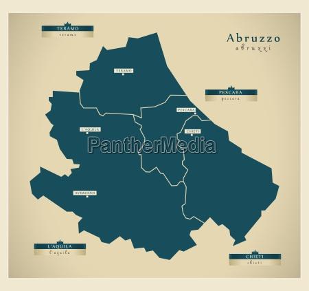 moderne landkarte abruzzo it