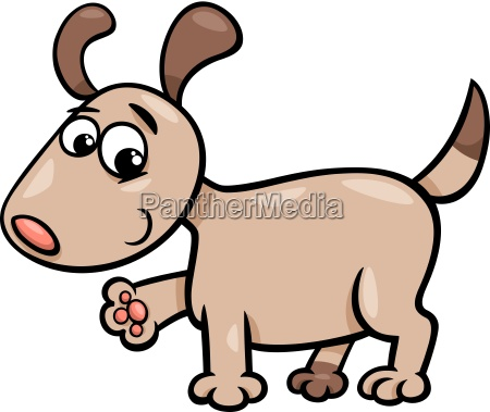 dog puppy cartoon illustration