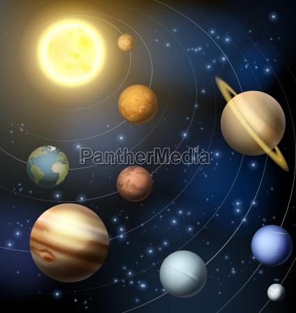 sonnensystem-planeten-illustration - 12568524