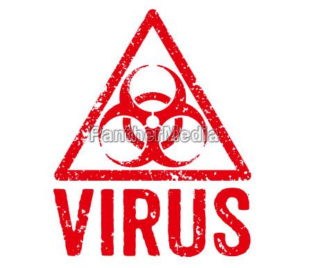 roter stempel virus