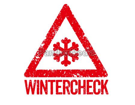 roter stempel wintercheck
