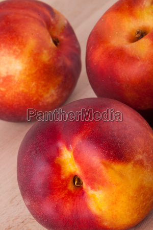 frische nektarinen apfelsinen pfirsiche nahaufnahme