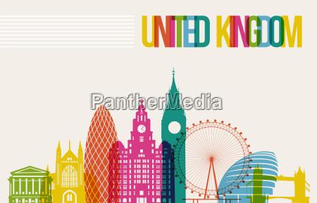 reisen grossbritannien ziel der sehenswuerdigkeiten skyline