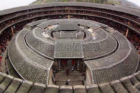 tulou besondere architektur von china
