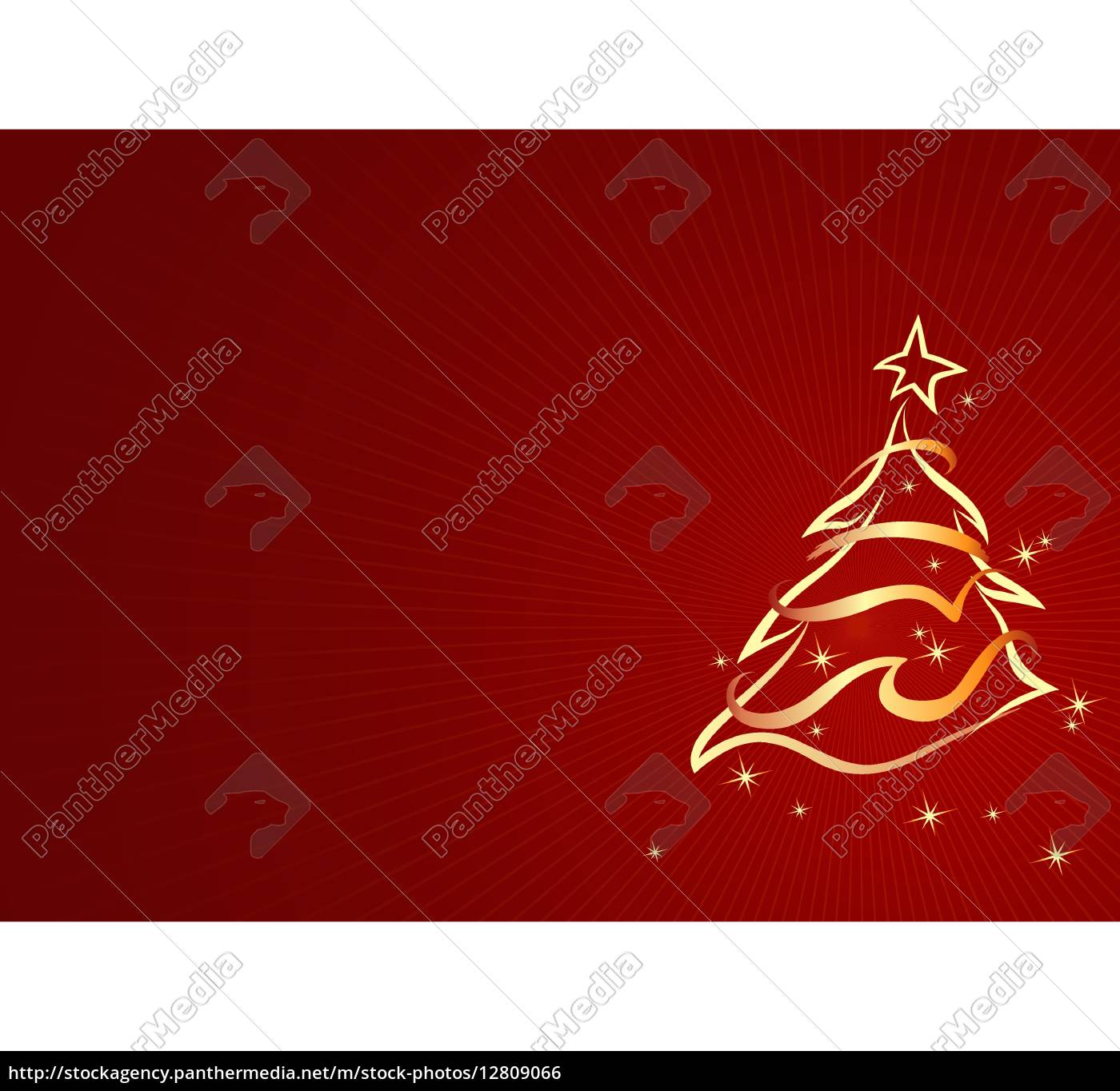 gold abstrakt xmas tree weihnachten hintergrund stock photo 12809066 bildagentur. Black Bedroom Furniture Sets. Home Design Ideas