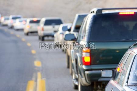 traffic jam arizona usa