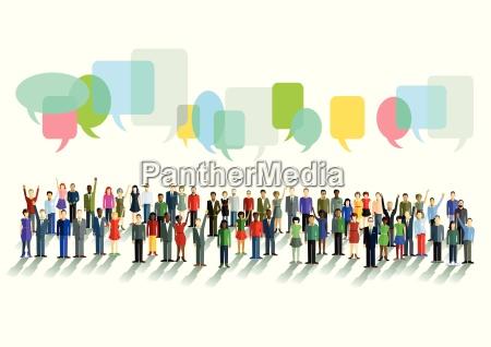 kommunikation und meinungen