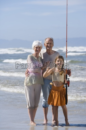 grandparents and granddaughter 7 9 with