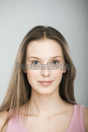 woman colour relaxation female portrait freshness