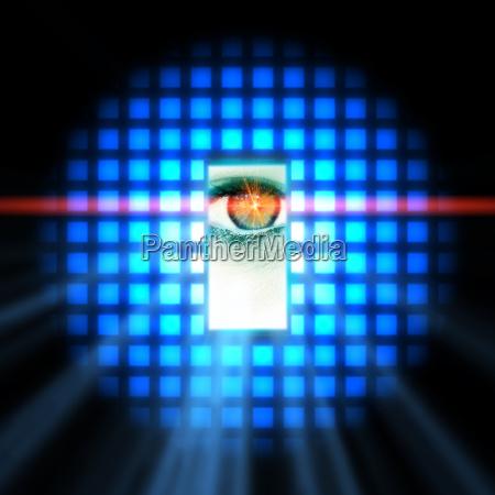 digital eye interface