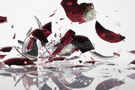 motion postponement moving movement glass chalice