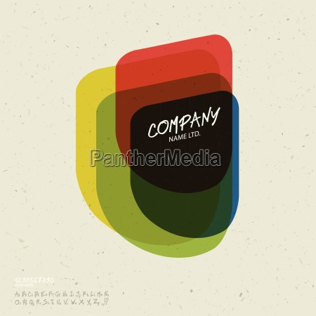 social abstract logo vector design template