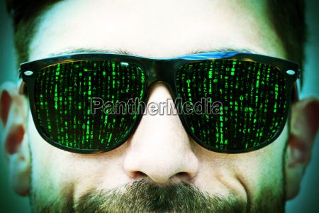 matrix eyes