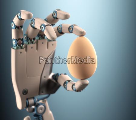 hand egg