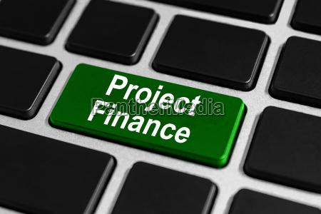 project finance button on keyboard