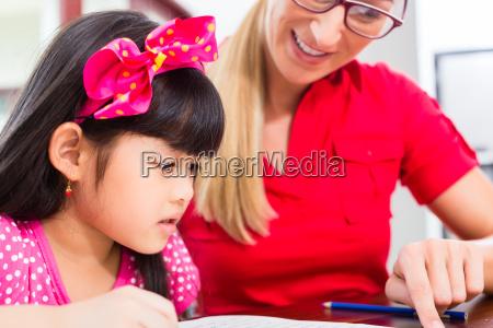 englisch privat lehrerin unterrichtet asiatisches