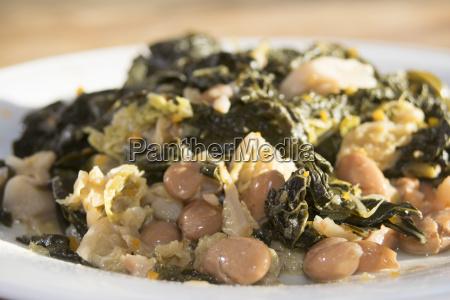 black cabbage soup