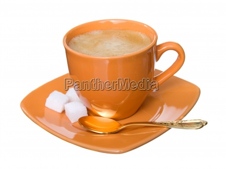 noggin coffee with foam sugar and