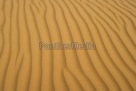 sand in der wahiba wueste im