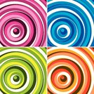 background pattern vector illustration depicting colorful