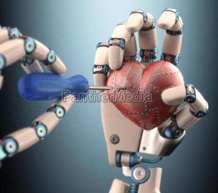 repairing the heart