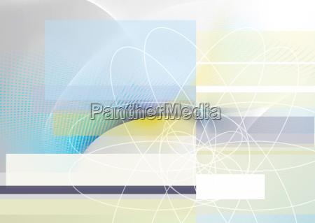 abstrakt linien raster konzept