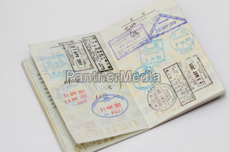 visa on passport