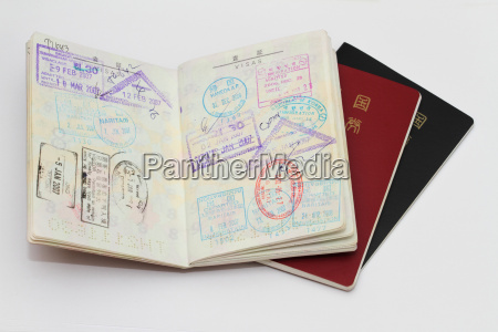 japanese passport and visa