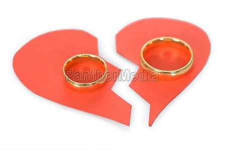 ring on broken heart