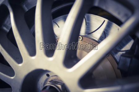 super sport car alloy wheel disc