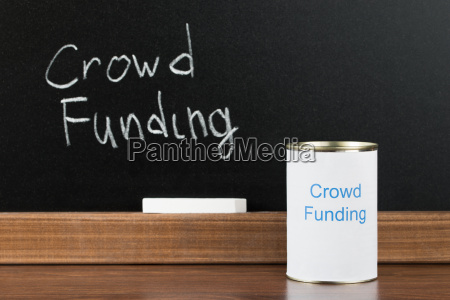 crowd funding writing on can