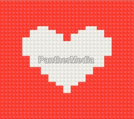 building blocks heart