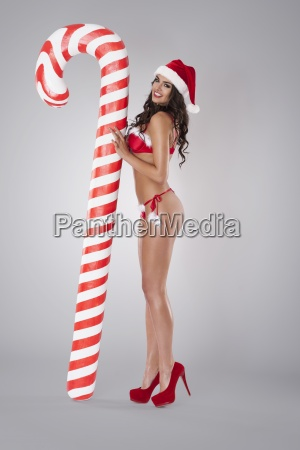 its my christmas candy cane