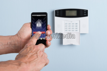 person disarming system with remote control