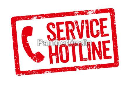 roter stempel service hotline