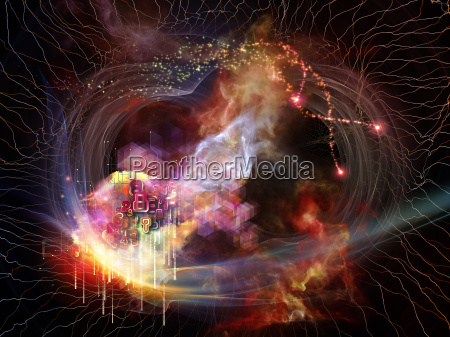 abstract visualization metaphor