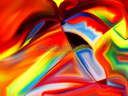 metaphorical sacred hues