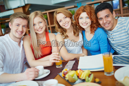 friendly teens