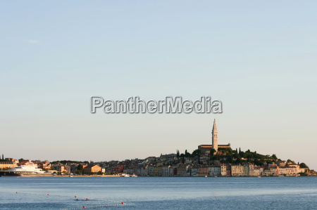 town of rovinj in croatia