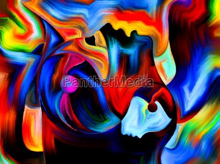 realms of sacred hues