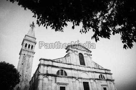 saint euphemia church in rovinj at
