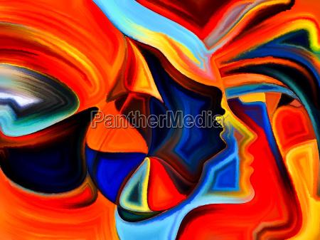 unfolding of sacred hues