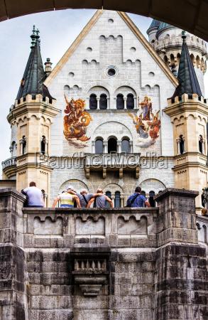 schloss neuschwanstein in bayern gebaut 1869