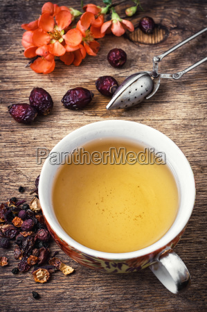 cup of aromatic tea