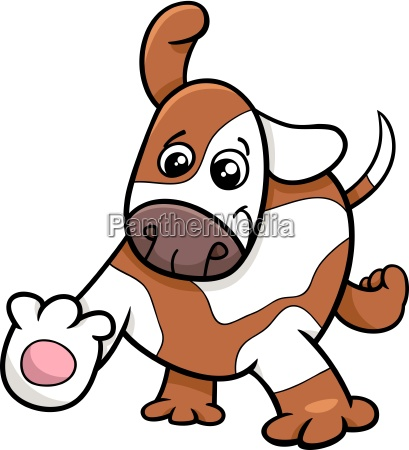 puppy dog cartoon character