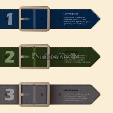 belt buckle stationery design