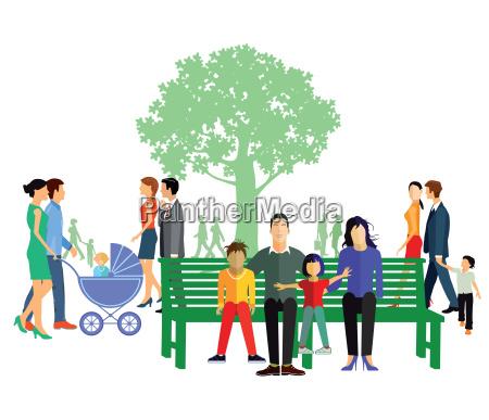 freizeit mit familie