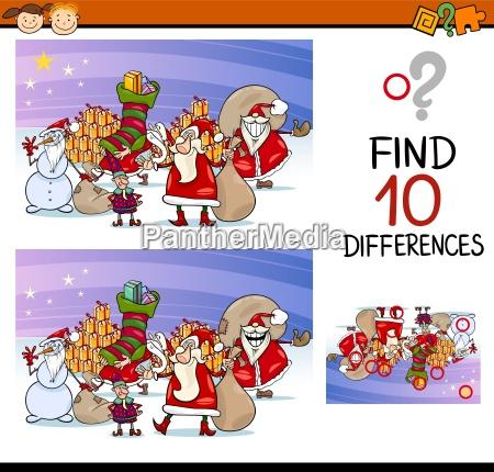 differences for preschool children