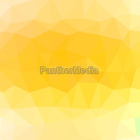 mosaic yellow background abstract polygonal yellow